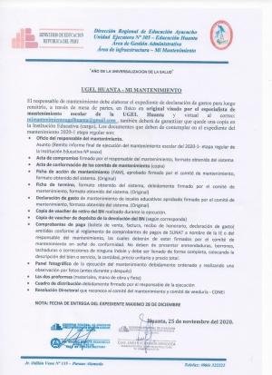 PARA ELABORAR EL EXPEDIENTE 202-1 ETAPA REGULAR