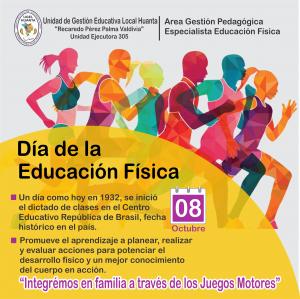 8 OCTUBRE: DIA DE LA EDUCACIÓN FÍSICA EN EL PERÚ