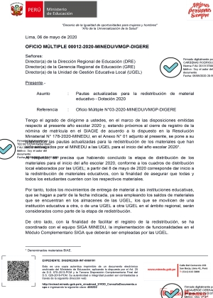 OFICIO MÚLTIPLE 00012-2020-MINEDU/VMGP-DIGERE