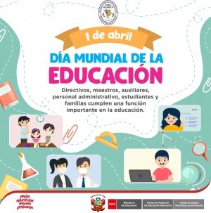 DIA MUNDIAL DE LA EDUCACION