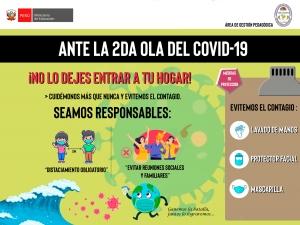 ANTE LA 2DA OLA DEL COVID-19