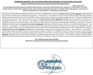 CUADRO PUBLICACIÓN  2021 I.E PRIMARIA Y SECUNDARIA DEFINITIVO - ACLARATORIA
