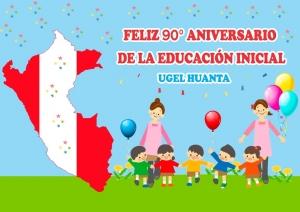 Celebremos el 90º Aniversario de la Educación Inicial