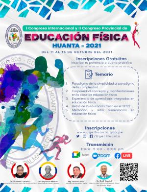 I CONGRESO INTERNACIONAL Y II CONGRESO PROVINCIAL DE EDUCACION FISICA