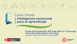 Participa del curso virtual Inteligencia emocional para el aprendizaje