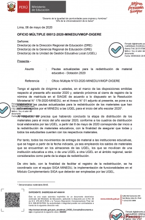 OFICIO MÚLTIPLE-00012-2020-MINEDU-VMGP-DIGERE