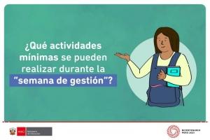 ACTIVIDADES A REALIZAR DURANTE LA SEMANA DE GESTIÓN
