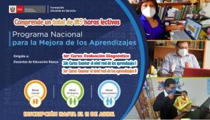 Preinscripciones para participar en el Programa Nacional para la Mejora de los Aprendizajes